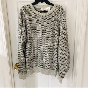 Vintage oversized chunky knit falls creek sweater